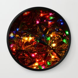 Lights in the Bowl Wall Clock