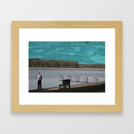 Marked Out. Framed Art Print