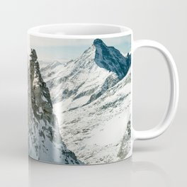 Mountain Winter Panorama Coffee Mug