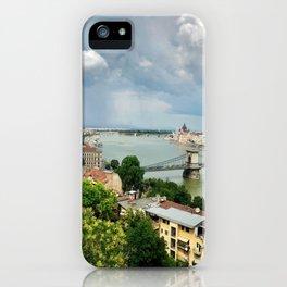 Breathtaking Buda Views. iPhone Case