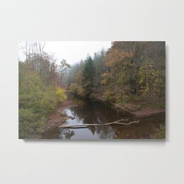 Clear Fork Metal Print