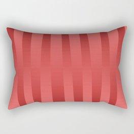 Red gradient Rectangular Pillow
