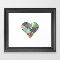 HEARTFUL Framed Art Print