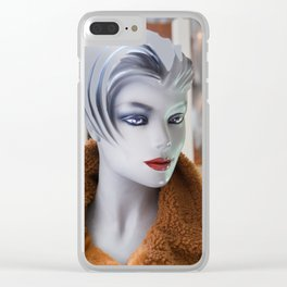 Mannequin 74 Clear iPhone Case