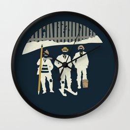 Urban Fae — Alley Scallywags Wall Clock