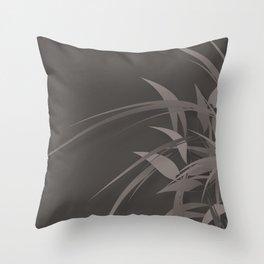 Sprite (Steel) Throw Pillow