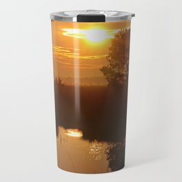 Kiss of the morning Travel Mug