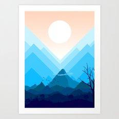 The Sunrises Art Print