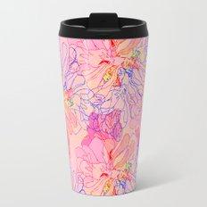 psychedelic succulent Travel Mug