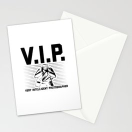 VIP Photographer | Photography Camera Gift Ideas Stationery Cards