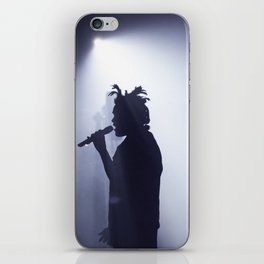 Abel on stage iPhone Skin