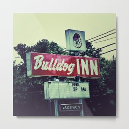 Bulldog Inn Metal Print