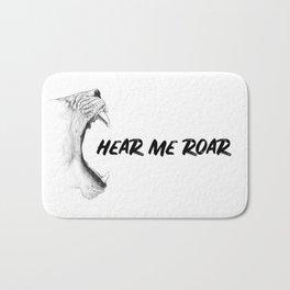 Hear Me Roar Bath Mat