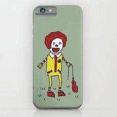Sad Ronald McDonald In A Field Slim Case iPhone 6s