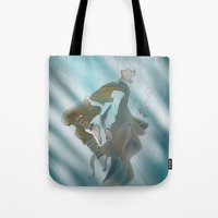 jack frost Tote Bags featuring Jack Frost by @Milre_art