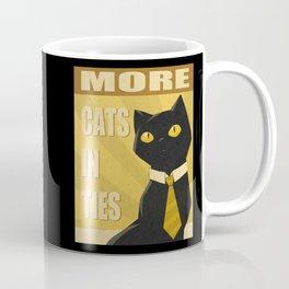 Cats in Ties - PSA Coffee Mug
