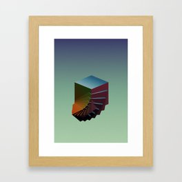 Landfill II Framed Art Print
