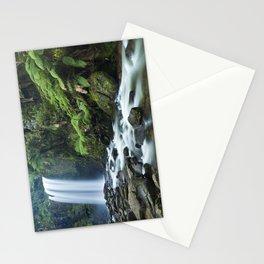 Rainforest waterfalls, Hopetoun Falls, Great Otway NP, Victoria, Australia Stationery Cards