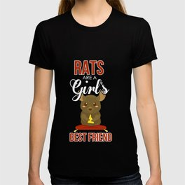 Cute Rats Are a Girl's Best Friend T-shirt