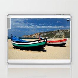 Colorful fishingboats Laptop & iPad Skin