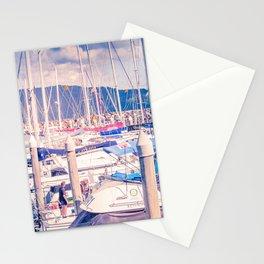 Marina Masts Stationery Cards
