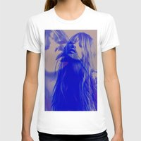 kate moss T-shirts featuring double Kate blues (kate moss) by Kiki collagist