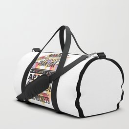 Nothing Is Stronger Than Love Duffle Bag