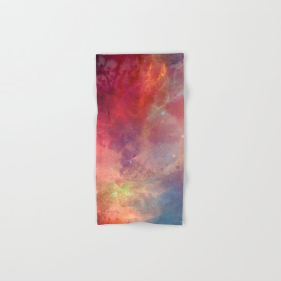 Watercolor space #4 Hand & Bath Towel