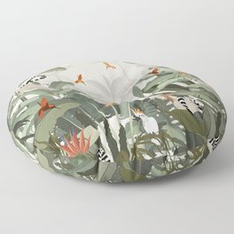 Madagascar Palm Floor Pillow