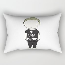 Ni Una Menos Rectangular Pillow