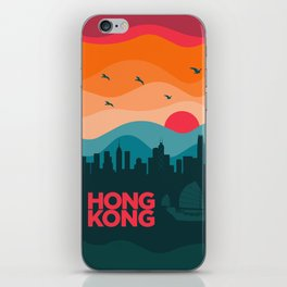 Vintage Travel: Hong Kong iPhone Skin