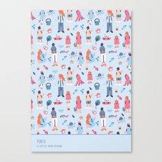 Ponyo Canvas Print