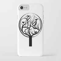 tree of life iPhone & iPod Cases featuring Life Tree by Frivolous Designs