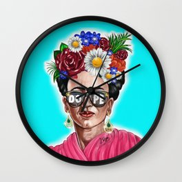 Dope Frida Wall Clock