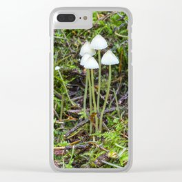 White Caps Clear iPhone Case