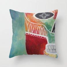 Calavera 1 Throw Pillow