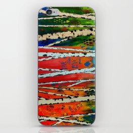 Birch Tree Stitch iPhone Skin