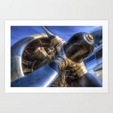 Radial Engine Art Print