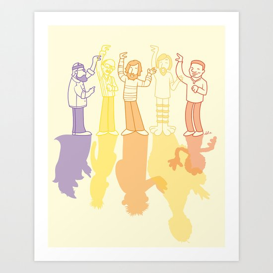 Making Magic Art Print