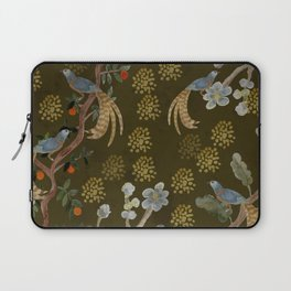 Golden Chinese Forest - Chinese Art Laptop Sleeve