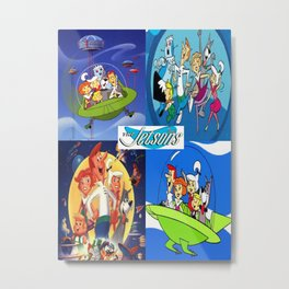 The Jetsons Metal Print