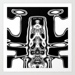 Mono alien Art Print