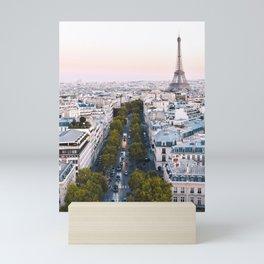 Paris City Mini Art Print