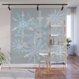 Beautiful Snowflakes Wall Mural