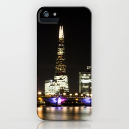 Shard at night. iPhone Case