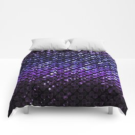 Crystal Bling Strass Purple G323 Comforters