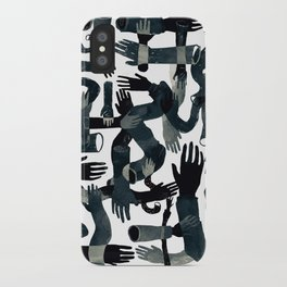 Dark Hands iPhone Case