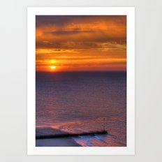 Kent Sunrise Art Print
