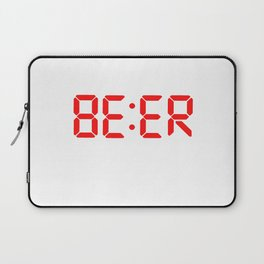 Beer o clock Laptop Sleeve