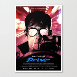 DRIVE LIKE A THIEF Canvas Print